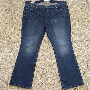 Torrid Women's Sl Bootcut Jeans Stretch Sz 22